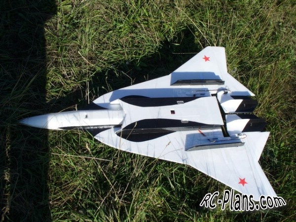 Free plans rc airplane S-59 Killer whale