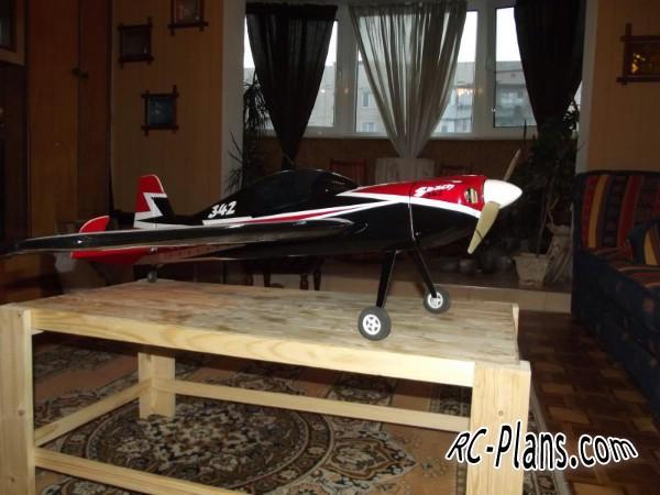 Free plans for balsa rc airplane Sbach 342