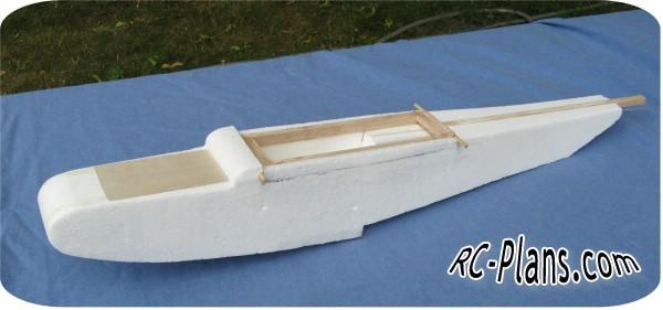 Free plans for foam rc hydroplane Sea Wasp