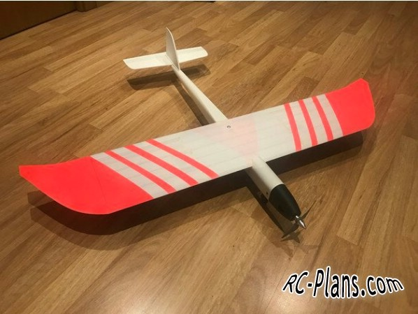 free 3d printed rc plane plans download - 3D printed rc airplane Seven UP