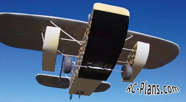 Free plans for foam rc airplane Sikorsky S39