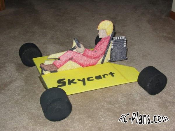 Free plans foam rc airplane Skycart
