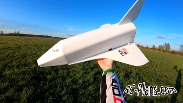 free rc plane plans pdf download - foam scale rc airplane Space Shuttle