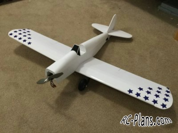 Free plans for foam rc airplane Spacewalker