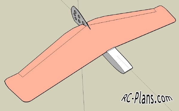 rc plans Alula - Thumb Wing Glider