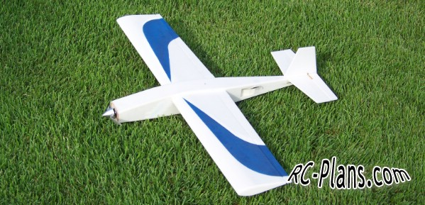 Free plans for rc airplane Turn-E-Cat