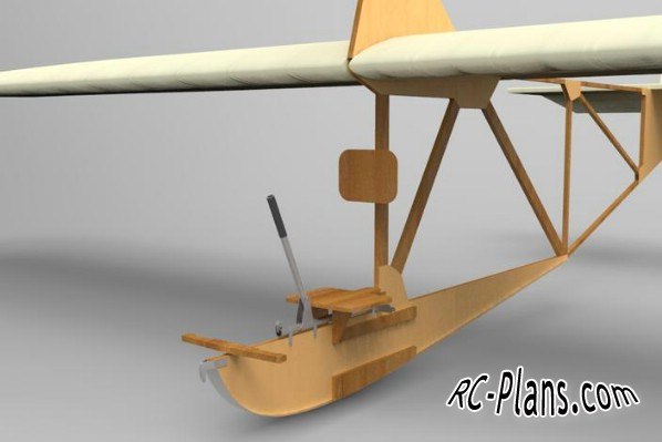 Free plans for balsa rc glider Zogling