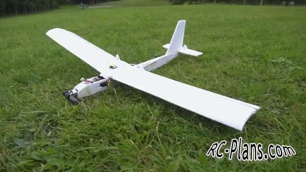 Free plans foam rc airplane Avion RC Mini