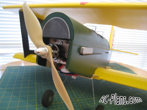 Free plans foam rc biplane Baby Blender V2