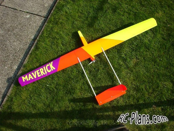 Free plans balsa rc glider Big Brother
