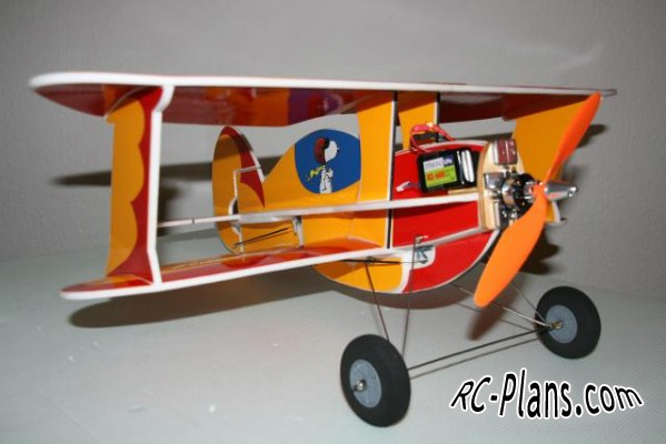 Free plans for rc biplane Bipie