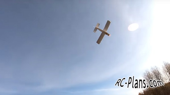Free plans RC airplane Cessna (easy)