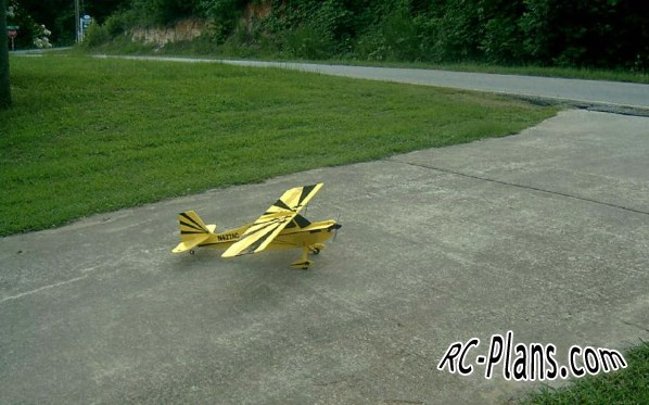 Free plans for rc flying wing 3D Foamy Citabria 7GCBC