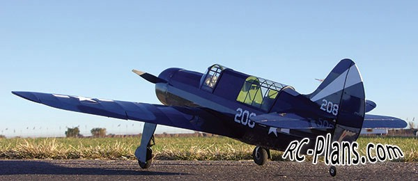Free plans for balsa rc airplane Curtiss Helldiver