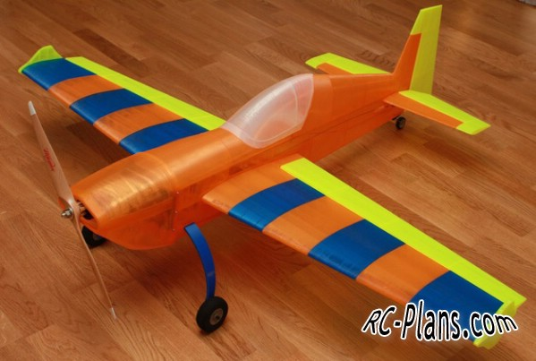 free 3d plans rc airplane Extra 300