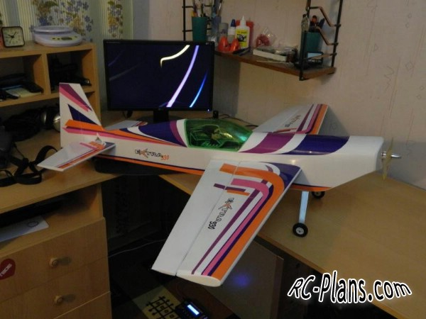 Free plans for rc airplane Extra 330 mini