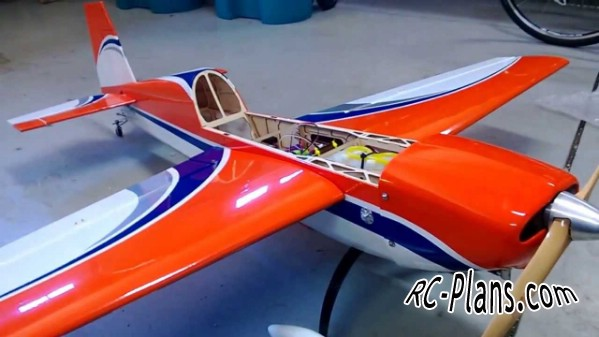 Free plans for balsa rc airplane Extra 300S 60