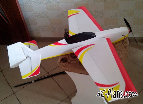 rc airplane plans extra deprone