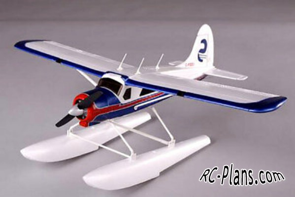 Floats for RC airplane