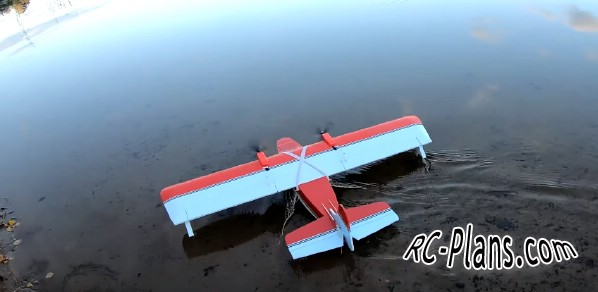 Free plans for rc airplane Flying Boat