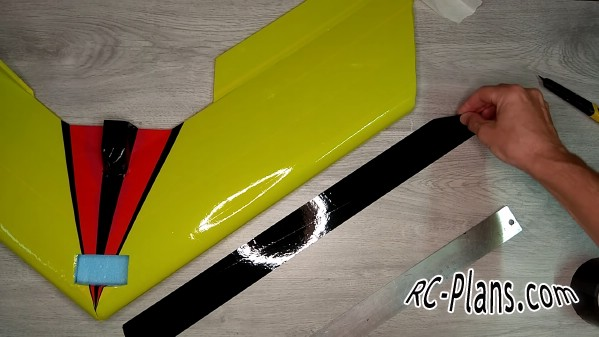 Free plans foam rc airplane Flying Wing