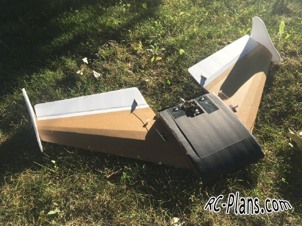 Free plans foam rc airplane FT Spear