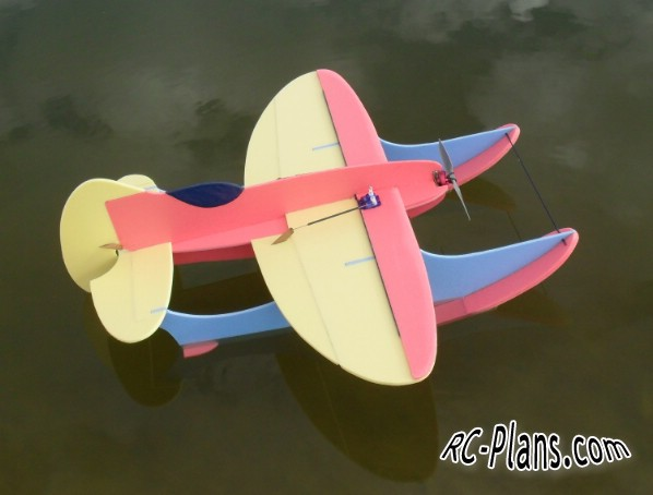 Free plans for easy foam rc hydroplane Gee Willikers