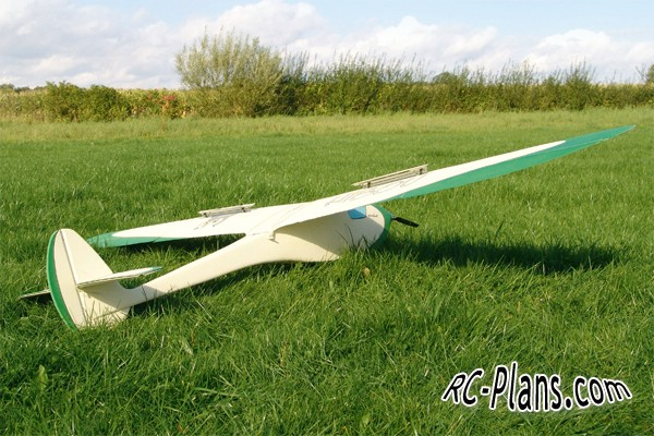 rc plans Hibou airplane