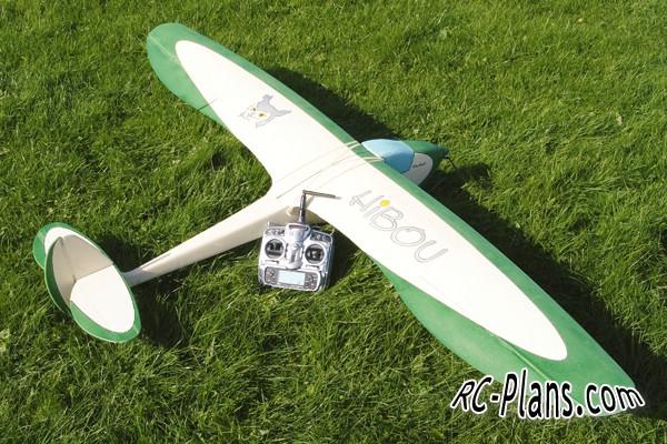 rc plans Hibou glider