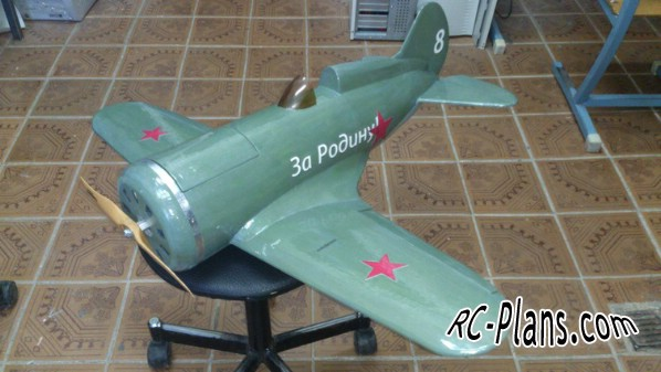 Free plans for rc airplane I-16