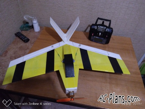Free plans for rc airplane KungFu