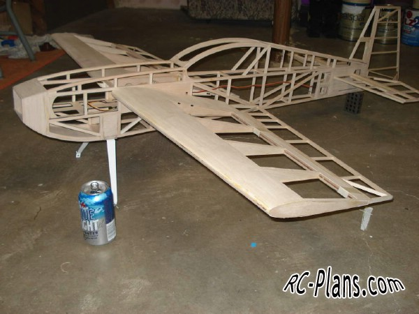 Free plans for balsa rc 3d airplane KX2 45