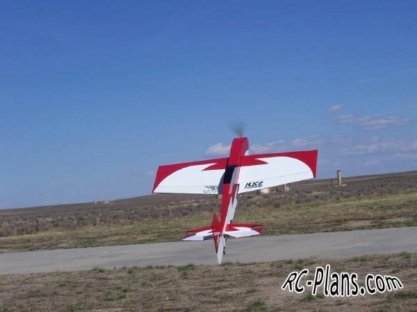 Free plans for balsa rc 3d airplane KX2 45
