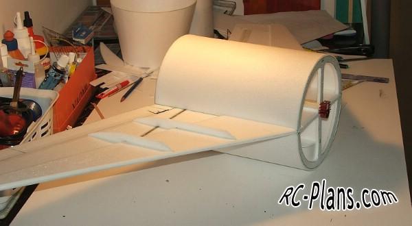 Free plans for rc airplane MiG-15 Fattie