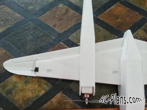 Free plans for rc airplane P-38