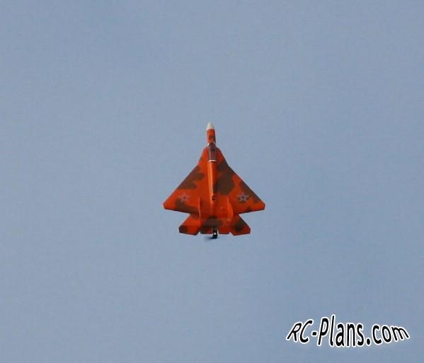 Free plans for rc airplane Su-57 PAK FA T50