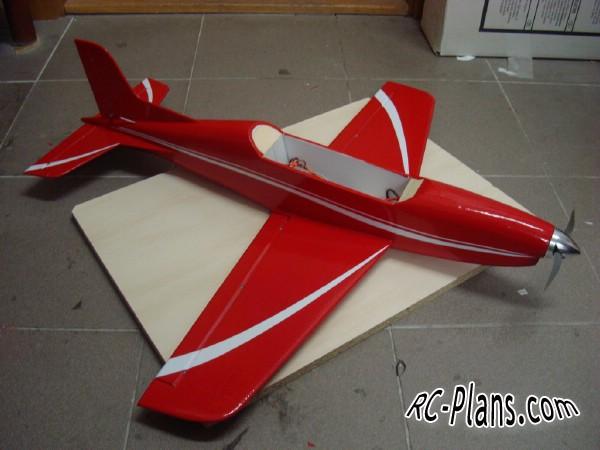 Free plans for easy foam rc airplane Pilatus