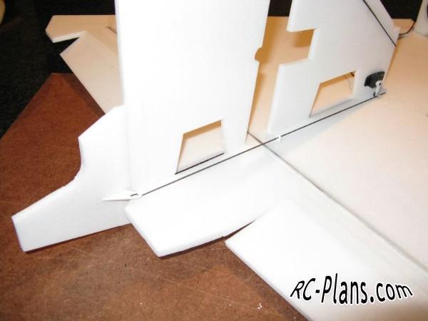 Free plans for foam rc hydroplane Seadart