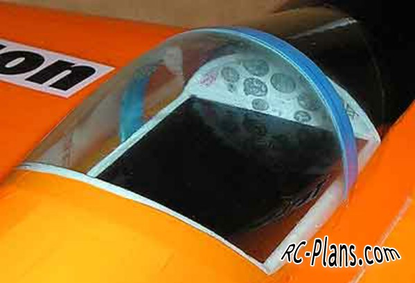 Free plans for foam rc airplane Tricon