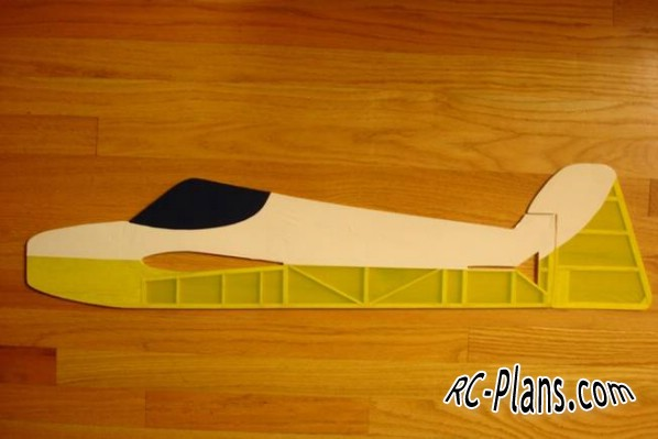 Free plans for rc airplane Rebellion 3D