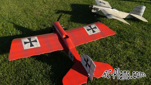 Free plans for foam rc airplane Scout FT Simple