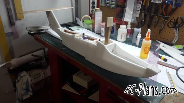 Free plans foam rc hydroplane Seamaser