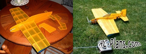 Free plans for balsa 3d rc airplane Skeeter