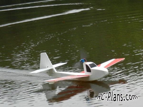 Free plans for easy foam rc hydroplane Slowboat