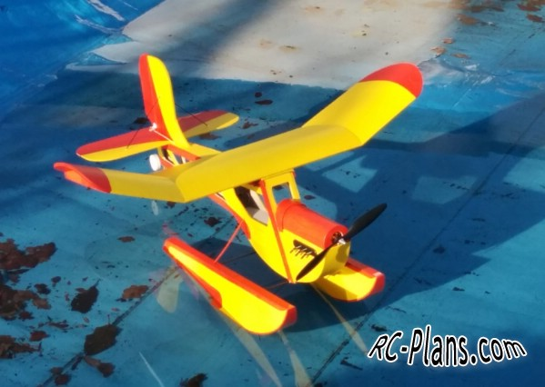 plans for a foam rc plane Slowly
