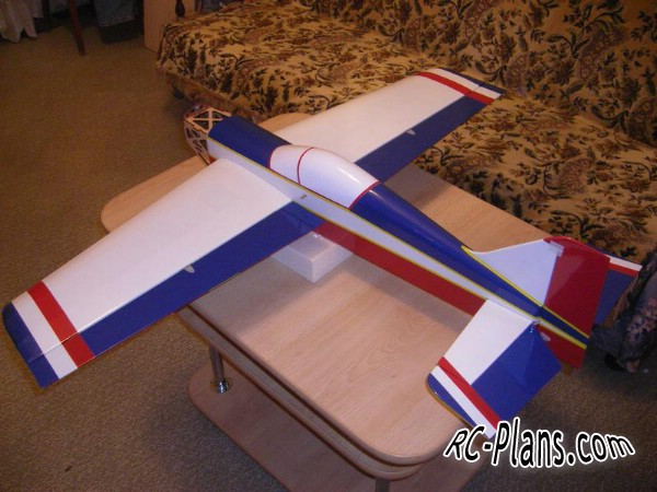 Free plans for balsa rc 3D airplane Spin