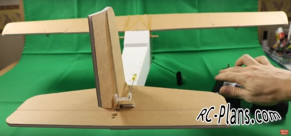 Free plans for rc airplane Twin Motor Easy