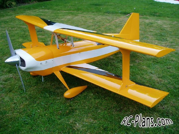 Free plans for rc airplane Ultimate 120