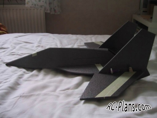 Free plans for rc airplane WingCat