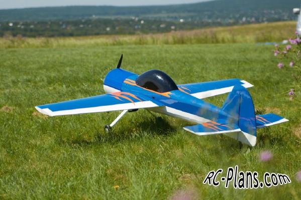 Free plans for balsa rc airplane Yak-55m